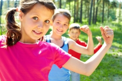 Kids-Flexing-Muscles